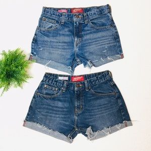 "Other - 25""/26"" Jean Shorts Bundle (Girls 14)"